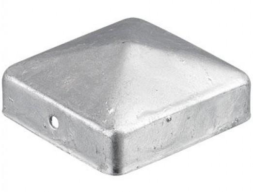 Afdekkap zilver 70x70mm