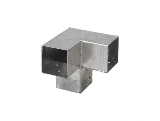 Pergola Hoekverbinding - dubbele hoek - 71x71 mm