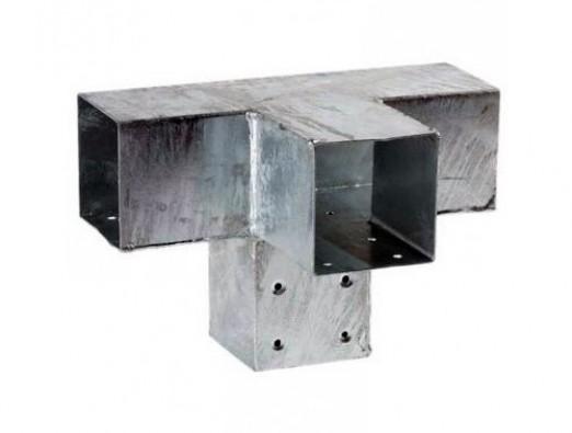 Pergola Hoekverbinding met verlenging 71x71 mm