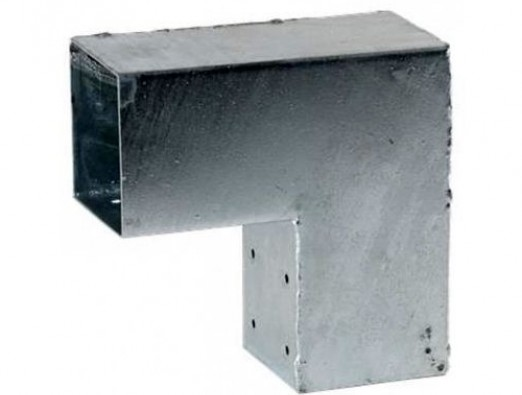 Pergola Hoekverbinding - 90° - 71x71 mm
