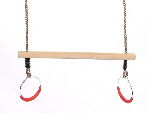 Rekstok met ringen - Trapeze met ringen